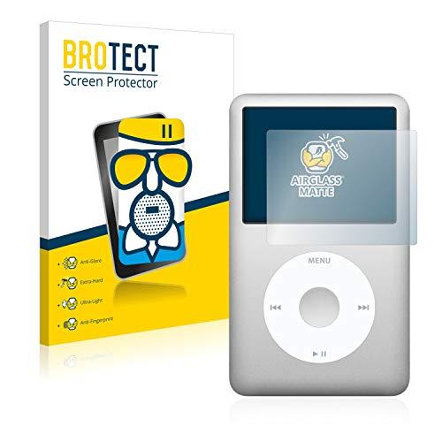 BROTECT Panzerglas Schutzfolie Matt kompatibel mit Apple iPod Classic 160 GB (7. Generation) - Flexibles Airglass, 9H Härte