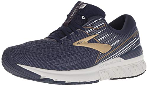 Brooks Adrenaline GTS 19, Scarpe da Running Uomo, Giallo (Nightlife/Black/White 741), 44.5 EU