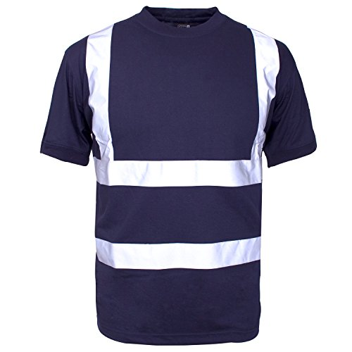 Supertouch Warnweste 39993 T-Shirt Corporate, Marineblau - Corporate Shirt