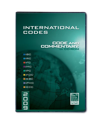 International Codes: Code and Commentary (International Code Council) (2009 Ibc)