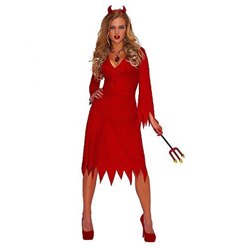 Christy's - Costume hot da diavolo, Donna, colore: Rosso