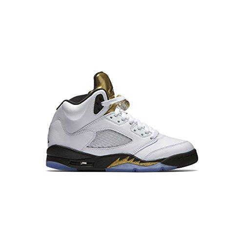 nike-jungen-air-jordan-5-retro-bg-basketballschuhe-blanco-blanco-white-black-mtlc-gold-coin-375-eu