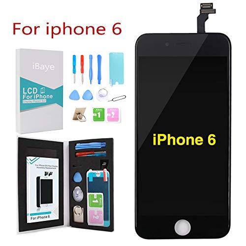 ibaye display lcd touch screen frame per iphone 6 nero vetro schermo kit smontaggio trasformazione completo di ricambio
