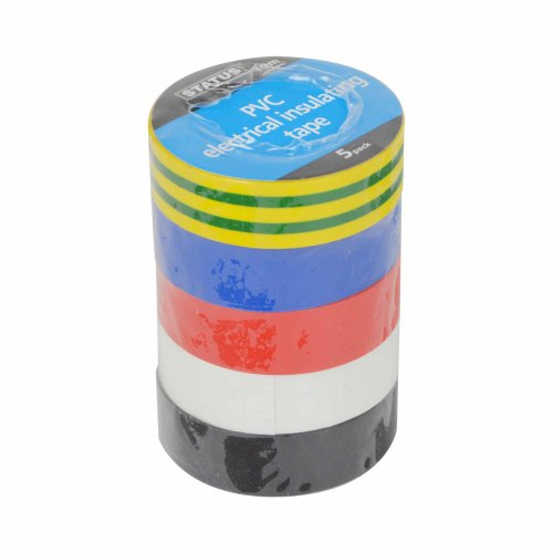 status-10-m-pvc-electrical-insulating-tape-assorted-colour