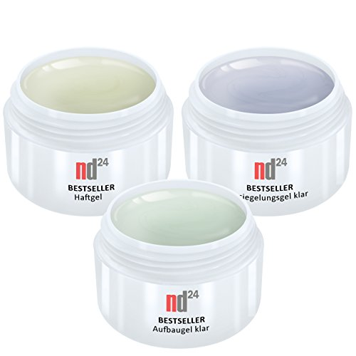 3-x-15ml-nd24-bestseller-gel-spar-pack-set-haftgel-aufbaugel-klar-finish-versieglergel-made-in-germa