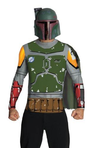 Star Wars Boba Fett Fan-Set für Männer - - Star Wars Boba Fett Kostüme Für Erwachsene