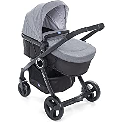 Chicco 08079169180000 Colour Pack Urban Stroller Kit Passeggino, Grigio (Legend)