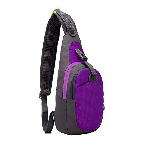 WeiMa - Riñonera interior  Morado violeta