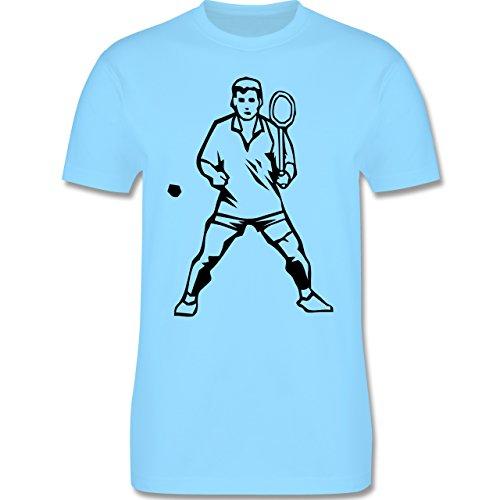 Tennis - Tennis - Herren Premium T-Shirt Hellblau
