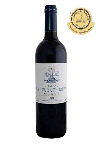 CHATEAU LA TOUR CORDOUAN - Vin Rouge AOP Medoc Bordeaux - 2015 - Gold Medal in Brussels 2018