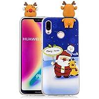 Everainy Huawei P20 Lite Silikon Hülle 3D Weihnachts Muster Ultradünn Hüllen Handyhülle Gummi Case Huawei P20... preisvergleich bei billige-tabletten.eu