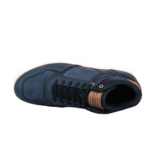 Baskets homme - BULLBOXER - Bleu - 620 KS 6306A - Millim Bleu