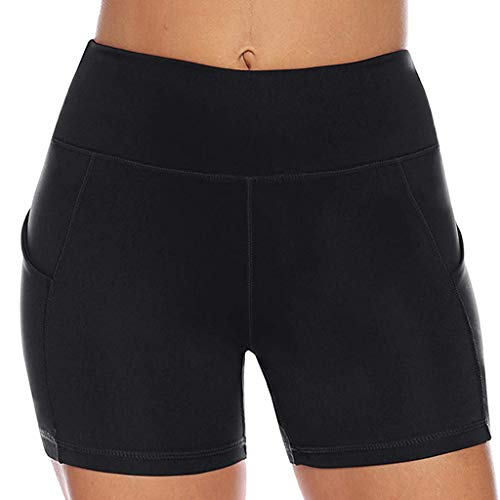 Kostüm Planet Fitness - Setsail Damen Mode Hosen Pure Color High Strength Quick Dry Sport Laufen Fitness Yoga Shorts