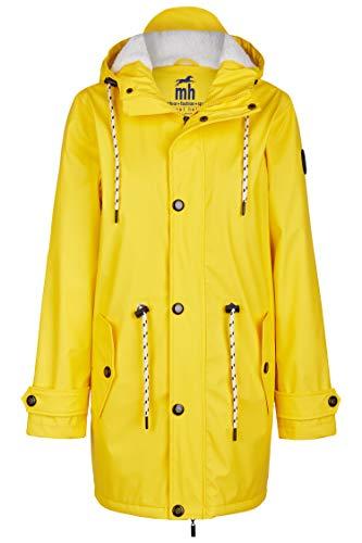 me Jacke | Regenjacke | veredelt | Das Original aus Ostfriesland in 2 Modell Norderney (3XL, Gelb mit Fleece) ()