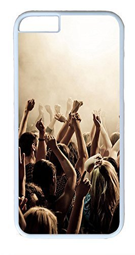 iPhone 6 Cases, ACESR Plastic Hard Case Cover for Apple Iphone 6 (4.7inch Screen) White (Border Scena)