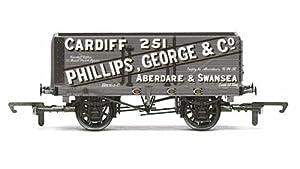 Hornby R6813 - Carro de Carga (7 Niveles, Phillips, George & Co)