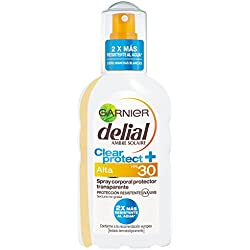 Garnier Delial Ambre Solaire - Clear protect+ - Spray transparente SPF30-200 ml