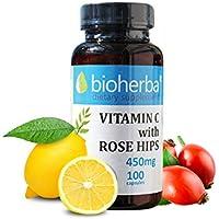 VITAMIN C mit HAGEBUTTEN 450 mg. 100 Kaps. NEU preisvergleich bei billige-tabletten.eu