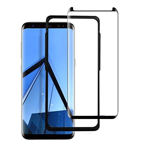 Panzerglas Schutzfolie für Samsung Galaxy S8, FayTun Panzerglasfolie für Samsung S8-9H Härte-Anti-Kratzen,Öl,Bläschen,Fingerabdruck-Displayschutzfolie für Samsung Galaxy S8