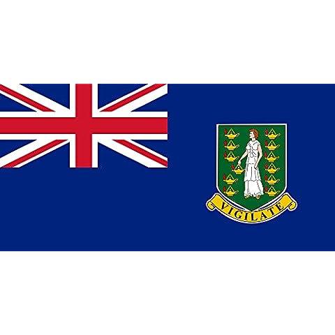 magFlags Bandiera Isole Vergini Britanniche 90x150cm - Cappotto Britannico Di Armi