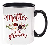 Khakee Printed Designer Mother Of The Groom Theme For Ceramic Coffee Mug (325 Ml)