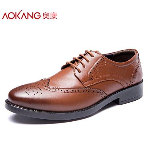 aemember Herren Schuhe geschnitzt Kleid für Herren Schuhe Business passt, Herren Schuhe Low Herren Schuhe Winter, 41zu helfen, und 173211052 (Schuhe Bubble Kleid)