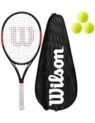 Wilson Federer team 105 Carbon racchetta da tennis + Cover + 3 palle L3