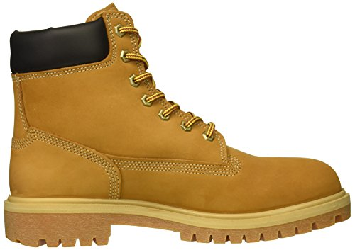 Timberland PRO Women s Direct Attach 6  Soft Toe Waterproof Industrial Boot  Wheat Nubuck Leather  12 M US