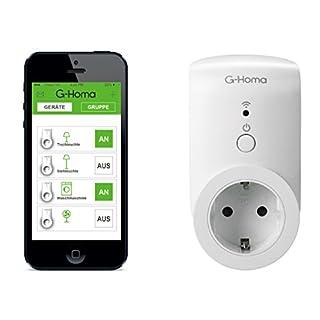 GAO EMW302WF G-Homa Die smarte WiFi Steckdose mit App. Steuerung für IOS und Android