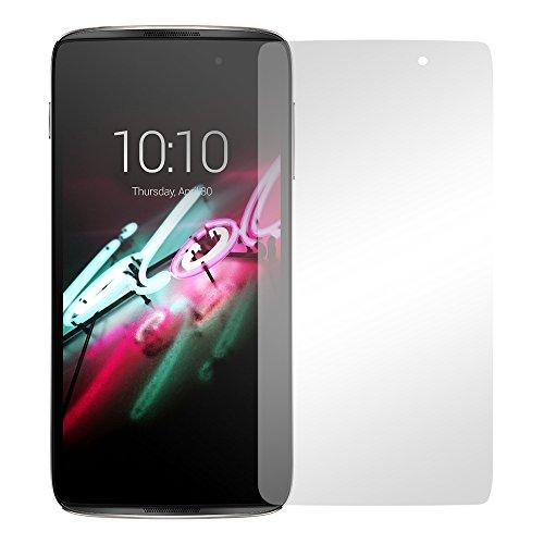 "2 x Slabo Displayfolie für Alcatel Idol 4 Displayschutzfolie Zubehör ""Crystal Clear"" KLAR - MADE IN GERMANY"