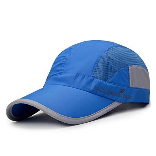 WYKDA Atmungsaktives Mesh Cap Baseball Caps Herren Damen 5 Panel Cap Golf Hüte Snapback Baseball Cap Mit Mesh Golf Cap-5-panel-caps