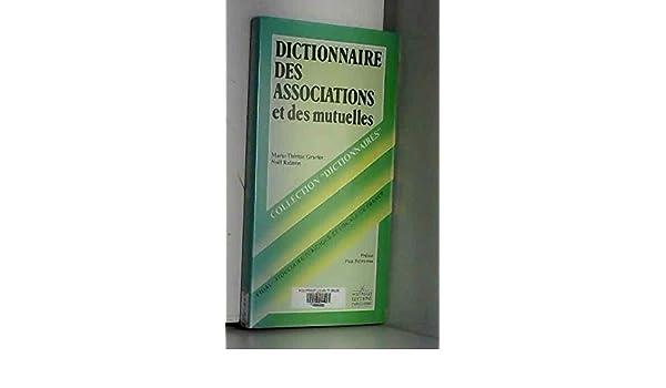 dictionnaire des associations et des mutuelles