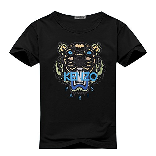NEW KENZO For 2016 Mens Printed Short Sleeve tops t shirts