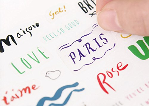 GMZ Petit Deco Aufkleber Kalligraphie -