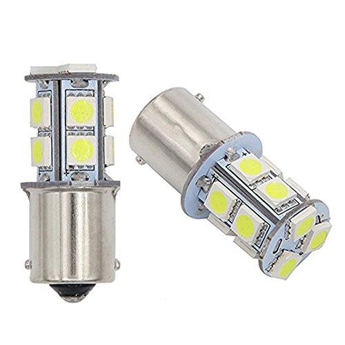 GutReise 2xAC24 V kaltweiß B15/BA15S LED Lampen Lampen Licht 13LED 5050 (24V, Cold - Glühbirne Experiment