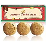 Mysore Sandal Trio Soap 450g(150 * 3) - Pack of 2