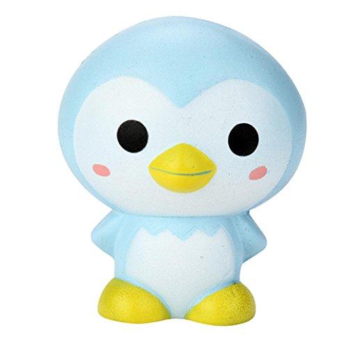 Preisvergleich Produktbild Hansee 9cm Cute Penguin Cartoon duftenden Squishy Charm langsam steigenden Squeeze Toy Charm