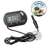 OIYINM77 Tragbares praktisches LCD-Digital-Thermometer-Aquarium-Thermometer Einkochthermometer