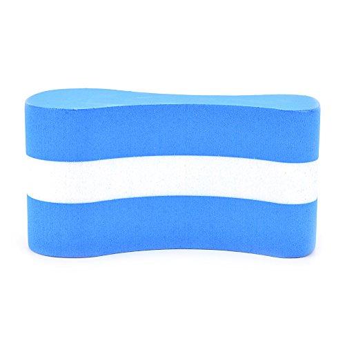 Samtlan Pull-Buoy-Schwimmhilfe, verbessert Schwimmhaltung Auftriebshilfe Schwimmtrainer für Erwachsene Kinder (Blau)