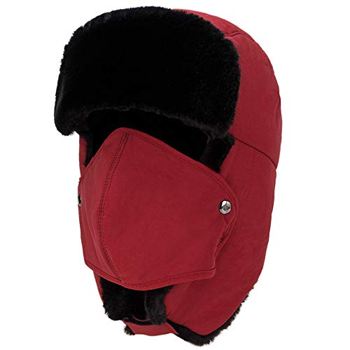 Mitlfuny Black Friay DE Cyber Monday DE,Mens Womens Hüte Unisex Warm Trapper Flieger Trooper Earflap Winter Ski Hut Maske