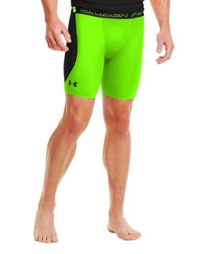 Under Armour Herren Fitness Hose und Shorts Vent Comp Hyper-Grün/schwarz