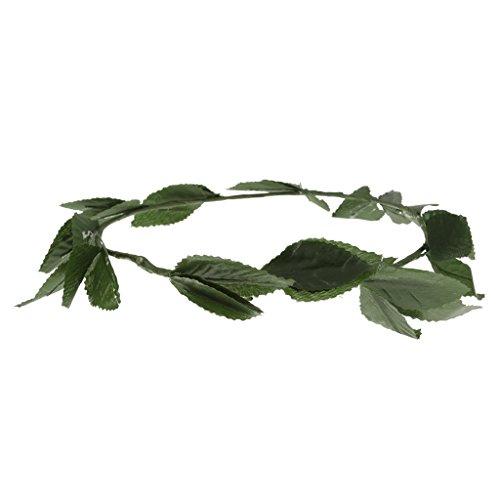F Fityle Blatt Blätter Stirnband Hochzeit Haarkranz Blume Krone Haarband Haarschmuck Haar - Lorbeer Kranz Kostüm Kopfbedeckung