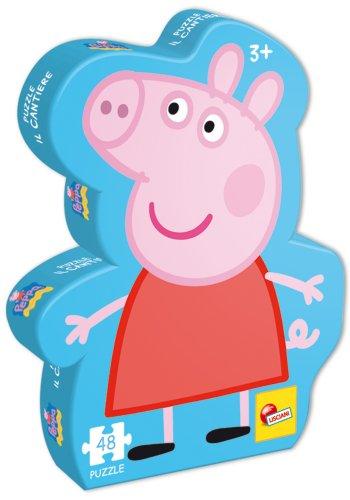Liscianigiochi 43125 - peppa pig puzzle sagomato