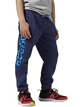 Reebok AY0790 - Pantalones deportivos para niños, color Azul (Bluink), talla S