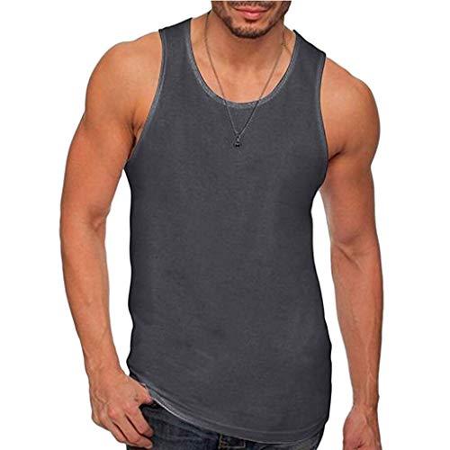 Kalorywee -  t-shirt - bustino - mao - manica a 3/4 - uomo dark gray large