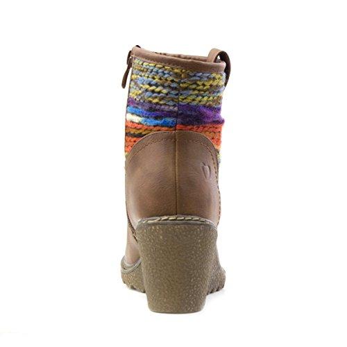 Heavenly Feet, Bottes pour Femme Marron