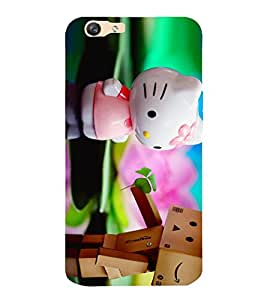A2ZXSERIES Premium Latest Designer Lovely Toys Printed Back Case Cover for Vivo Y55l / Vivo Y55s
