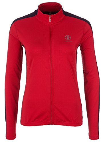 Fire & Ice Damen Second-Layer Skishirt Yanna Rot - 38 (M)