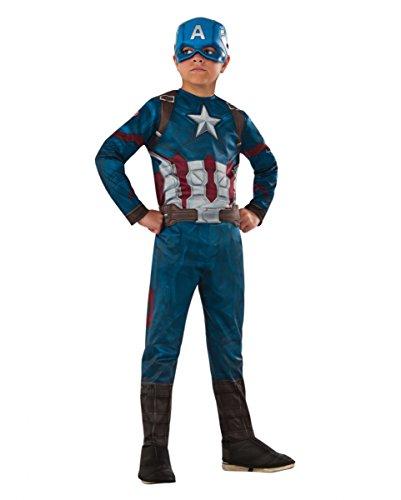 rtes Captain America Civil War Kinderkostüm L (Baby Avengers Kostüme)