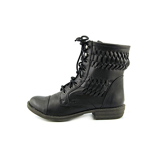 Nine West Triumph 3Y Rund Synthetik Stiefel Black